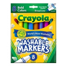 8 Color Count Bold Crayo...