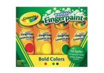 Set of 4 Bold Color Crayola Finger Paints