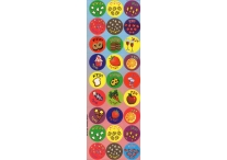 Brachot Multicolored Jumbo Dot Stickers