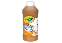 16 Oz Brown Washable Crayola Finger Paint