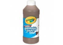 16 Oz Brown Crayola Paint