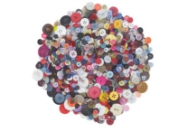 1 Pound Assorted Craft Buttons