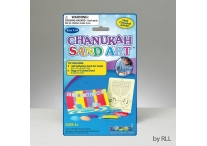 Chanukah Sand Art