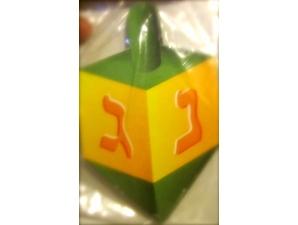 Chanukah Cardstock Dreidel