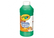 16 Oz Green Washable Crayola Finger Paint