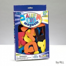 Aleph Bet Foam Magnets