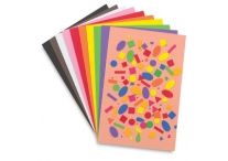 10 Assorted Colores 12 x 18 Foam Sheets