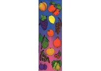 Fruit, Die-Cut Stickers