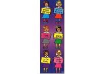 Hebrew Incentive Girls, Die-Cut Stickers