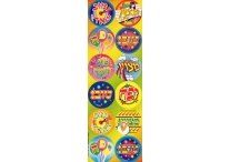 Hebrew Incentive, Jumbo Dot Stickers