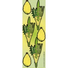 Lulav and Etrog, Die-Cut...