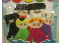 My Chassidic Family Finger Puppets