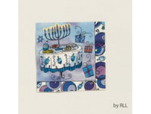 Chanukah Paper Napkins 10inches