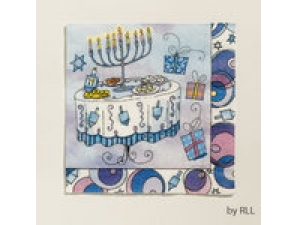 Chanukah Paper Napkins 13inches