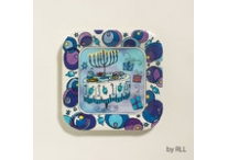 Chanukah Paper Plates 9 inches