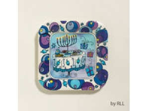 Chanukah Paper Plates 7 inches