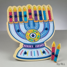 Menorah Shaped Puzzle