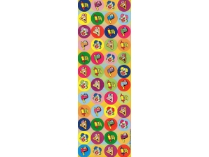Purim Dot Stickers