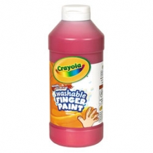 16 Oz Red Washable Crayo...