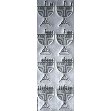 Chanukah Menorah Die-Cut...