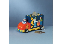 Small Truck Tzedakah Box; Boy