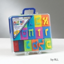 Aleph Bet Stamp Set