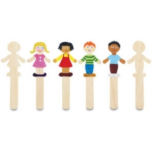 36 Boy/Girl Wooden Craft...