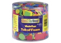 1/2 Pound Tub of Foam Shapes
