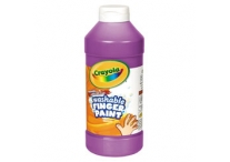 16 Oz Violet Washable Crayola Finger Paint