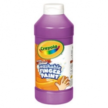 16 Oz Violet Washable Cr...
