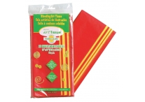 20 Sheets Warm Colored Bleeding Art Tissue Paper