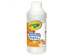 16 Oz White Washable Crayola Finger Paint