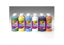 12 16 oz Assorted Crayola Washable Paints