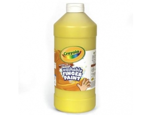 16 Oz Yellow Washable Crayola Finger Paint